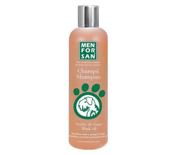 Menforsan ochranný šampón pro psy s norkovým olejem 300ml