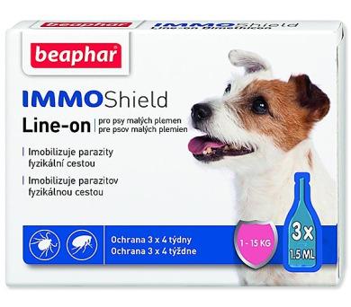 Beaphar Line-on IMMO Shield pro psy S 4,5ml