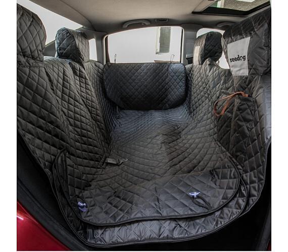 Reedog ochranný potah do auta pro psa na zip + boky - černý - XL + DOPRAVA ZDARMA