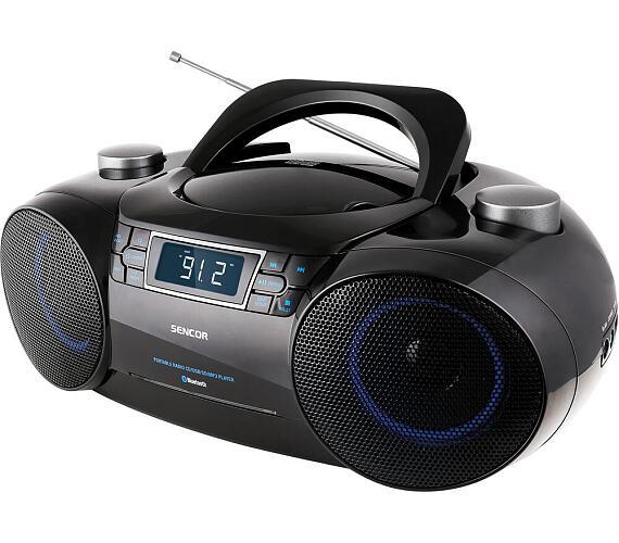 Sencor SPT 4700 RADIO S CD/MP3/USB/SD/BT + DOPRAVA ZDARMA