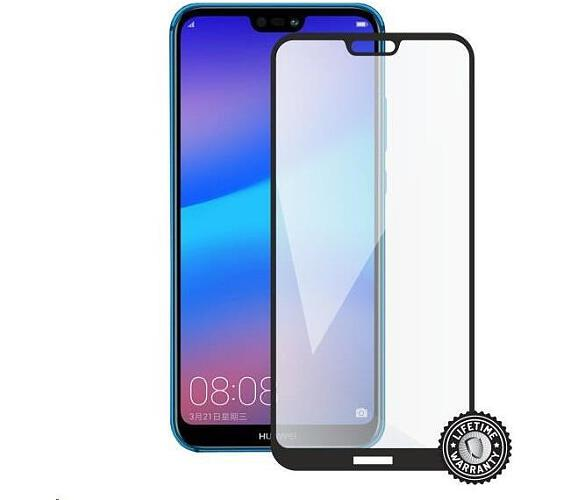 Screenshield HUAWEI P20 Lite Tempered Glass protection (full COVER black) (HUA-TG25DBP20LT-D)