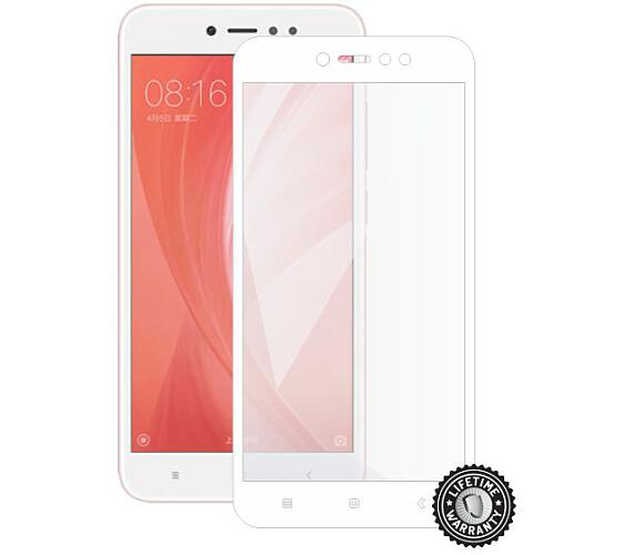 Screenshield XIAOMI RedMi Note 5A Global Tempered Glass protection (full COVER white) (XIA-TG25DWREDNO5AG-D)
