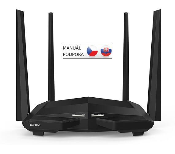 Tenda AC10 Wireless AC Router 1200Mb/s + DOPRAVA ZDARMA
