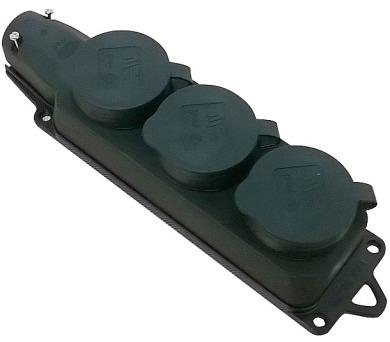 Vícenásobná zásuvka gumová 404015018