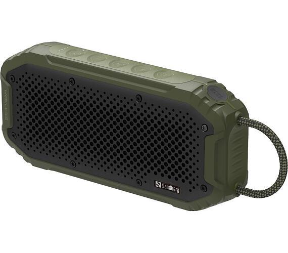Sandberg Waterproof Bluetooth reproduktor a PowerBank 5200 mAh + DOPRAVA ZDARMA