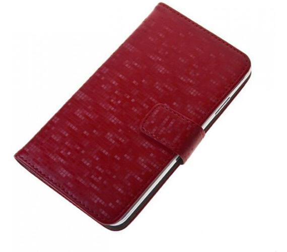Pouzdro BOOK GLAMMY vel. M (4-4,5 inch) červené (PBOGLAMRD)