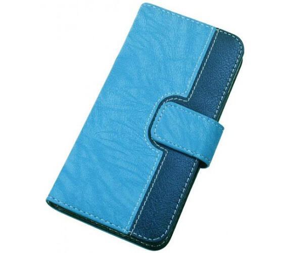 Pouzdro BOOK CHEERY vel. L (4,5-5 inch) modré (PBOCHELBE)