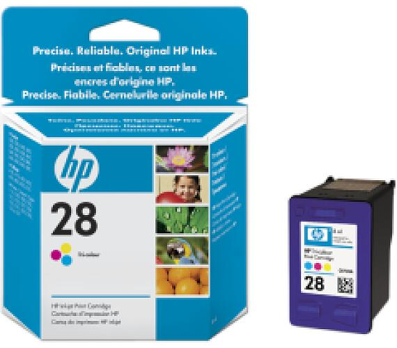 HP no. 28 - 3barevná ink. kazeta C8728A (C8728AE)