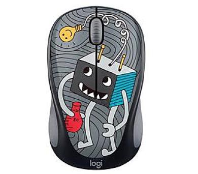Logitech® Wireless Mouse M238 - Doodle Collection - LIGHTBULB - EMEA (910-005049) + DOPRAVA ZDARMA