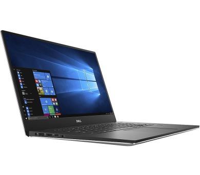 """Dell XPS 15 Touch (9570)/ i7-8750H/32GB/1TB SSD/ NV GTX 1050 Ti 4GB/ 15.6"""" UHD dotyk/ FPR/ W10Pro/ stříbrný/ 3YNBD ons (9570-75743) + DOPRAVA ZDARMA"""
