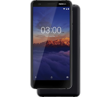 Nokia 3.1 Single SIM Black (11ES2B01A16)
