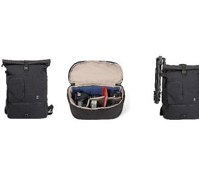 Crumpler Kingpin Camera Half Backpack - black (KPCHBP-001) + DOPRAVA ZDARMA