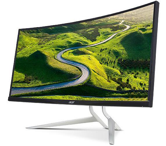 "Acer LCD XR342CKPbmiiqphuzx 87cm (34"") IPS LED Curved 21:9 3440x1440@100Hz/100M:1/1ms/2xHDMI/DP/USB3.1 Type C/USB3.0 Hub/repro/Bla (U"