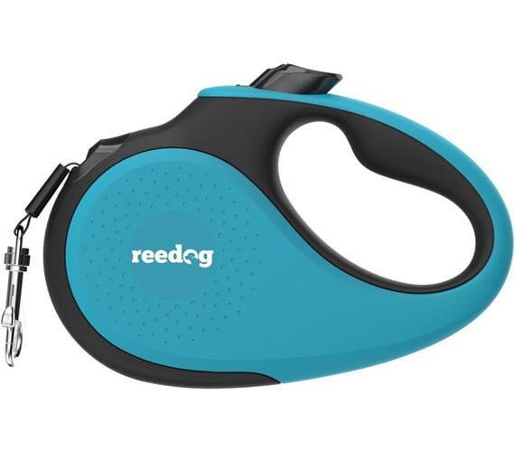 Reedog Senza Premium samonavíjecí vodítko M 25kg / 5m páska / tyrkysové