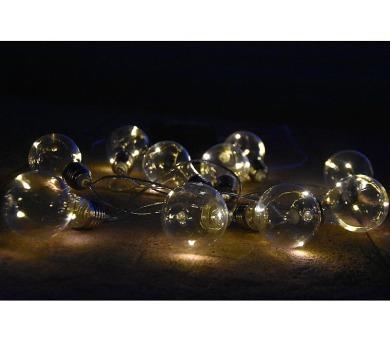 10 LED Solární osvětlení – žárovky