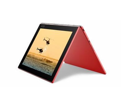 """Lenovo YOGA BOOK WINDOWS Atom x5-Z8550 2,4GHz/10,1"""" FHD/IPS/multitouch/4GB/128GB/CreatePad/Halo KBRD/WiFi/WIN10 PRO RED (ZA150259CZ) + DOPRAVA ZDARMA"""