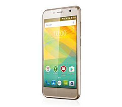 "PRESTIGIO - 1GB/8GB 5.0"" IPS (1280x720) QuadCore 1.3GHz cam 8+2 Mpx 2000mAh dual Android 6.0 zlatá (PSP3512DUOGOLD)"
