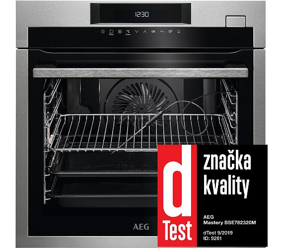 AEG Mastery SteamBoost BSE782320M + Kurz vaření + kuchařka ZDARMA + DOPRAVA ZDARMA