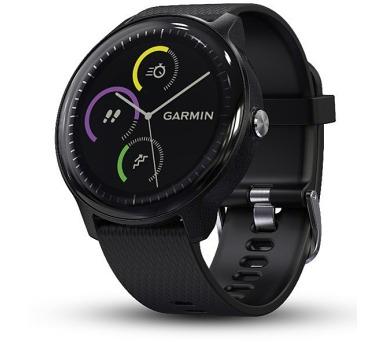 GARMIN GPS multisportovní hodinky vívoActive3 Music Optic