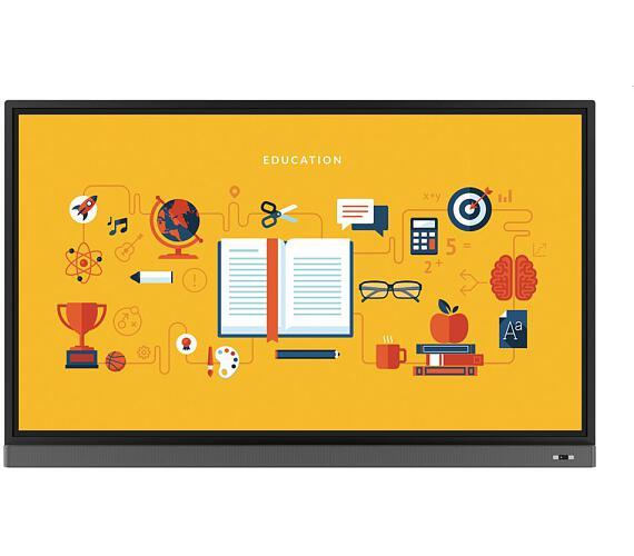 "BenQ LCD RM8601K 86"" W LED/3840x2160/1200:1/8ms/400 cd/m2/10-point touch/D-Sub/3xHDMI/DP/4xUSB/VESA/Low Blue Light (9H.F49TK.DE2) + DOPRAVA ZDARMA"