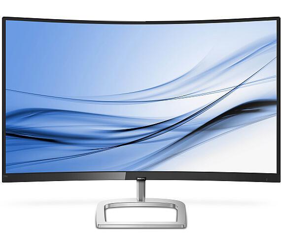"Philips LCD 278E9QJAB 27"" zakřivený VA FreeSync/1920x1080/3000:1/20M:1/4ms/250cd/VGA/HDMI/DP/repro (278E9QJAB/00) + DOPRAVA ZDARMA"