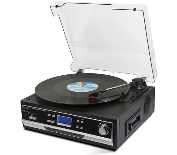 Technaxx USB gramofon/konvertor - převod gramofonových desek a audio kazet do MP3 formátu (TX-22+) (