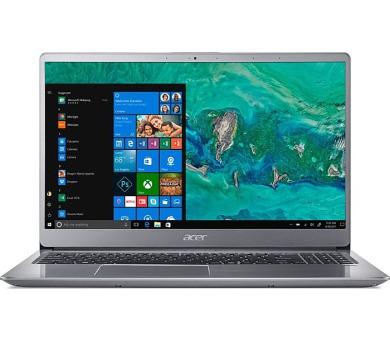 "Acer Swift 3 - 15,6""/i7-8550U/2*8G/256SSD+1TB/MX150/W10 stříbrný (NX.GZAEC.002)"