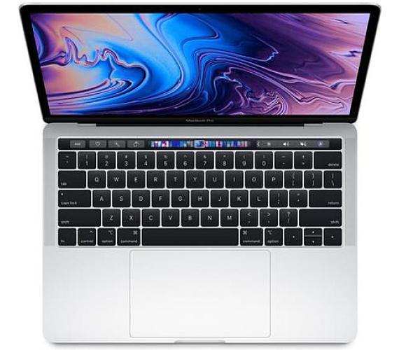 """Apple MacBook Pro 13,3"""" Touch Bar/IPS Retina 2560x1600/QC i5 2.3-3.8GHz/8GB/512GB_SSD/Iris Plus 655/Silver (2018) (MR9V2CZ/A) + DOPRAVA ZDARMA"""