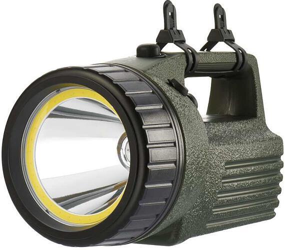 Nabíjecí svítilna LED + COB model 3810 10W + DOPRAVA ZDARMA