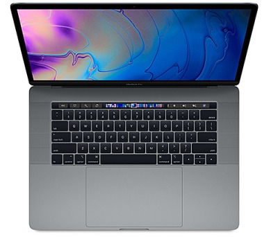 MacBook Pro 15'' i7 2.2GHz/16G/256/TB/SK/Sp.Gray (MR932SL/A)