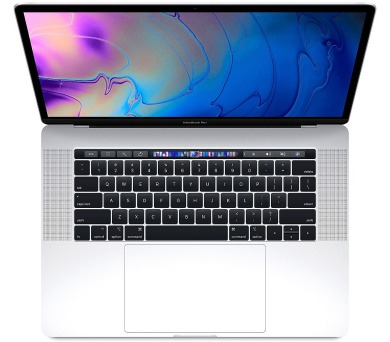 MacBook Pro 15'' i7 2.2GHz/16G/256/TB/SK/Silver (MR962SL/A)