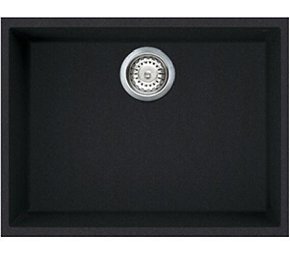 ELLECI QUADRA 110 UM Full black/Granitek + DOPRAVA ZDARMA