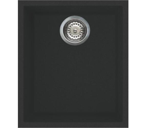 ELLECI QUADRA 100 UM Full black/Granitek + DOPRAVA ZDARMA