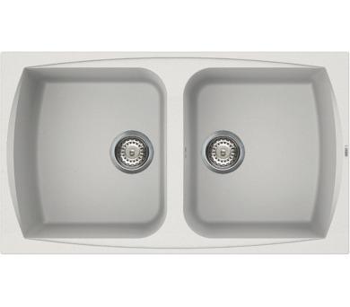 ELLECI LIVING 450 Bianco titano/Granitek + DOPRAVA ZDARMA