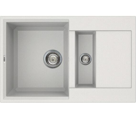 ELLECI EASY 325 Bianco titano/Granitek + DOPRAVA ZDARMA