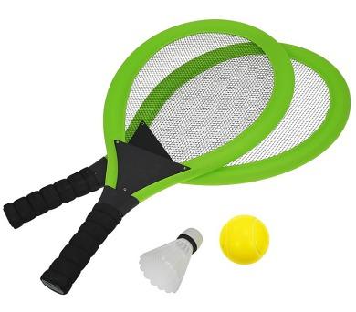 Set na plážové hry tenis/badminton 2xraketa Rulyt