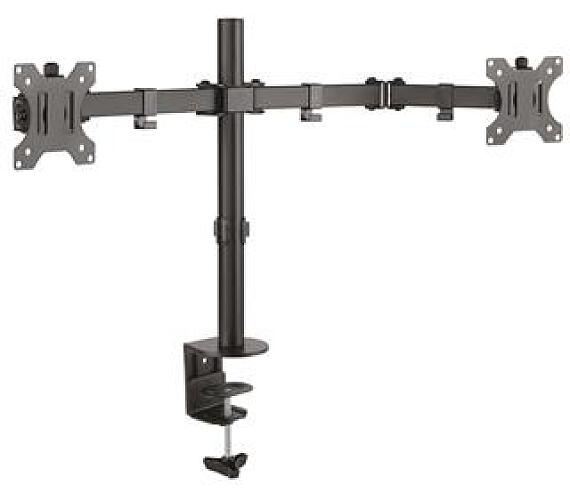 CONNECT IT TwinArm stolní držák na 2 monitory