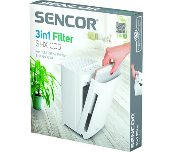 SHX 005 filtr pro SHA 6400WH Sencor