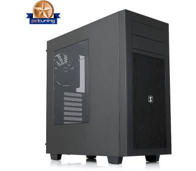 SilentiumPC skříň MidT Aquarius M60W/ 1x140mm a 2x120mm fan/USB 2.0+USB 3.0/ černá (SPC127) + DOPRAVA ZDARMA