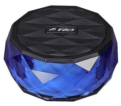 FENDA F&D repro W3/ modré/ bezdrátové/ 3W/ BT4.0/ multibarevné podsvícení/ MicroSD (W3 (blue))