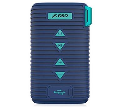 FENDA F&D repro W6T/ modré/ outdoor/ IPX5/ bezdrátové/ 5W/ BT4.1/ MicroSD (W6T (blue))