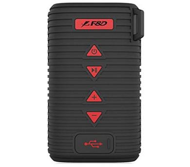 FENDA F&D repro W6T/ černé/ outdoor/ IPX5/ bezdrátové/ 5W/ BT4.1/ MicroSD (W6T (black))