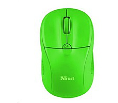 TRUST Primo Wireless Mouse - neon green (21922)