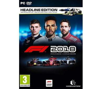 F1 2018 - Headline Edition PC (4020628762704) + DOPRAVA ZDARMA
