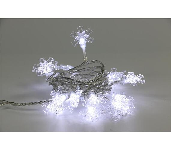 Marimex řetěz vločky Bílá 20 LED (18000298)