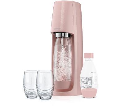 SodaStream Spirit růžová + DOPRAVA ZDARMA