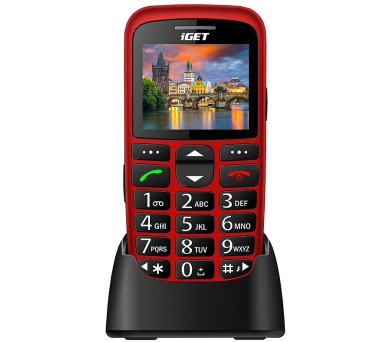 iGET Simple D7 Red 2,2""