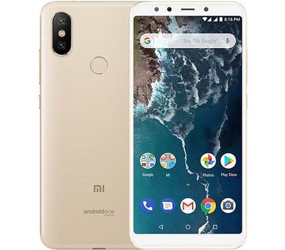 Xiaomi Mi A2 Global Gold/5,99´´ FullHD+/2GHz OC/4GB/32GB/2xSIM/12+20MPx/3000mAh