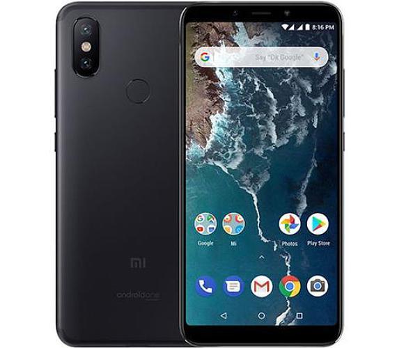 Xiaomi Mi A2 Global Black/5,99´´ FullHD+/2GHz OC/6GB/128GB/2xSIM/12+20MPx/3000mAh