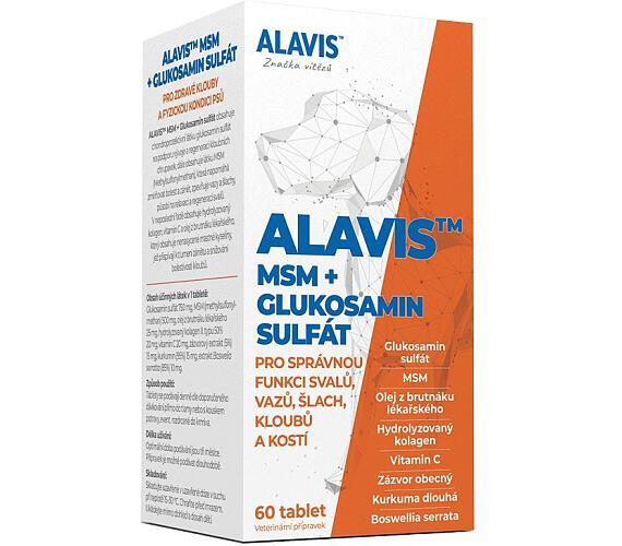 ALAVIS MSM + Glukosamin sulfát 4e887fe93b